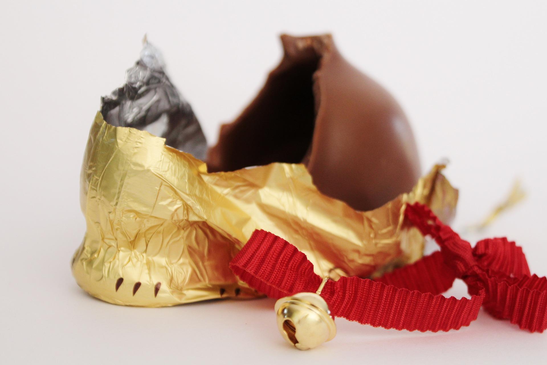 czekoladowy zajączek