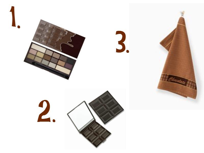 czekoladowy prezent