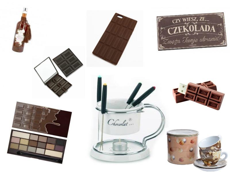 gadżety czekoladowe