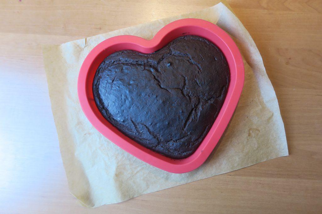 brownie z fasoli z czekoladową odżywką białkową