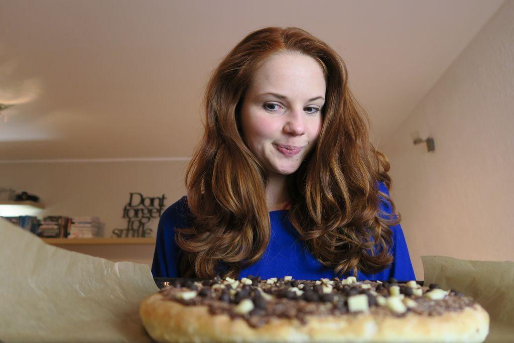 czekoladowa pizza Guseppe