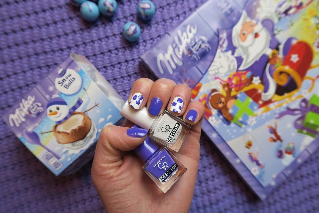 manicure Milka