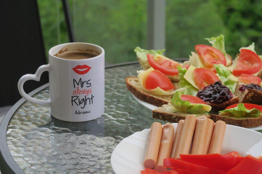 kawa na świeżym powietrzu